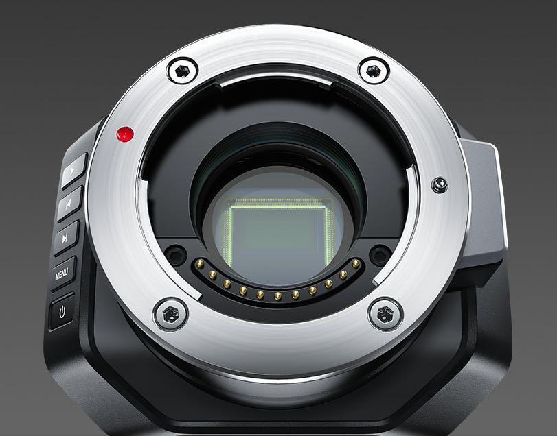 Micro-cinema-camera black magic droni