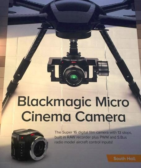 Black Magic MICRO CINEMA CAMERA la proposta Black Magic per i DRONI.