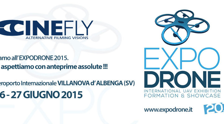 CINEFLY all' EXPO DRONE 2015 a Villanova di Albenga.