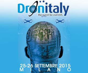 Cinefly DRONITALY 2015 a MILANO.