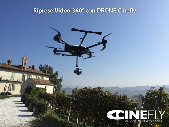 Video VR 360 con Droni Cinefly