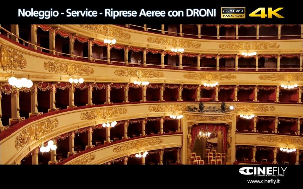 Riprese aeree e Noleggio Droni a MILANO