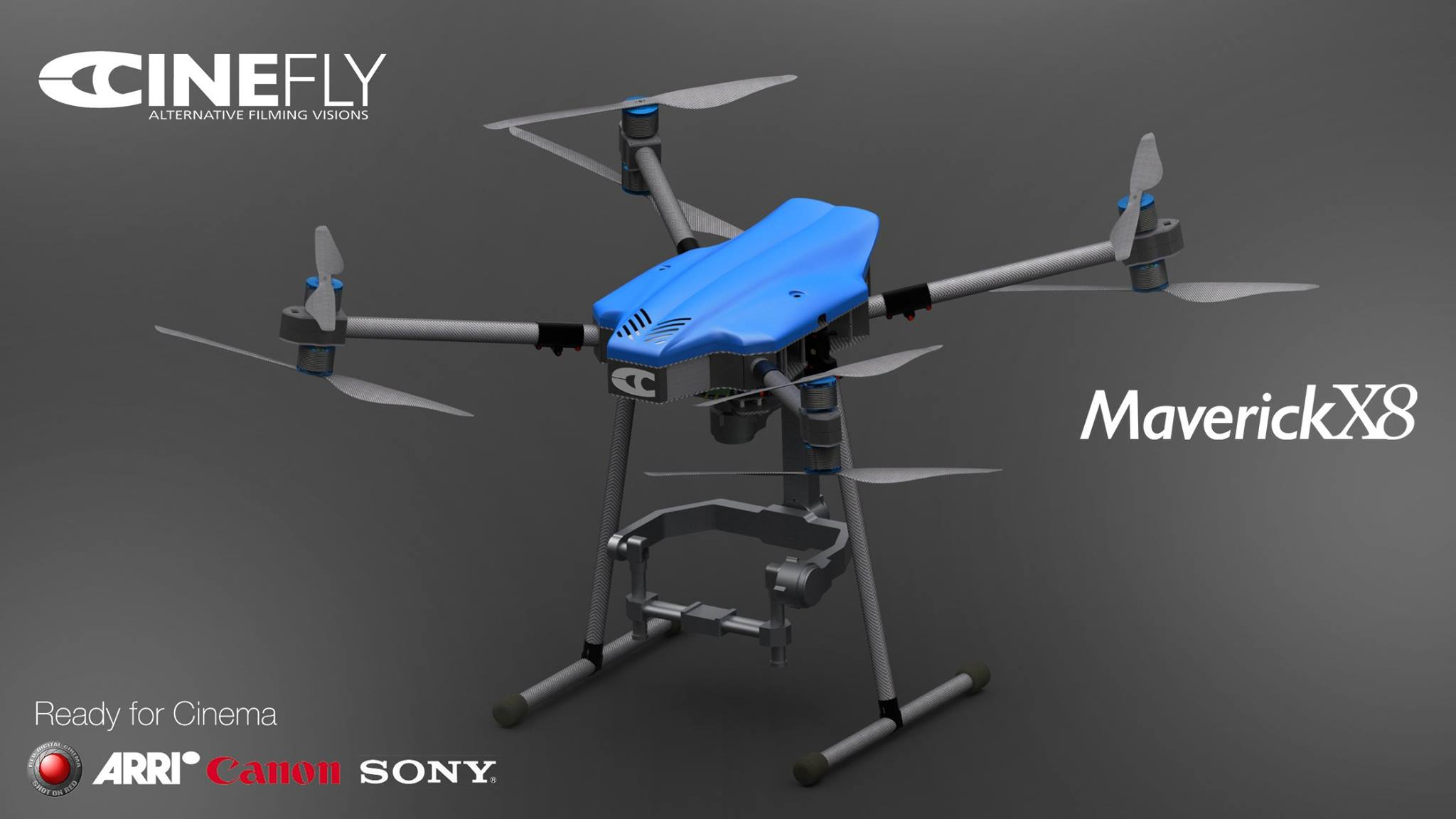 Cinefly MAVERICK X8 Drone CINEMA