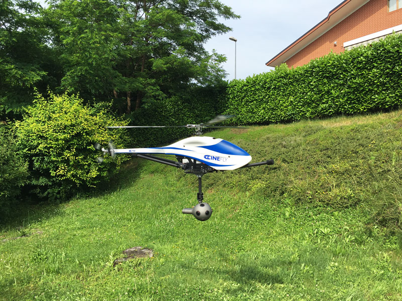 Droni Cinefly NOKIA OZO SERVICE NILEGGIO